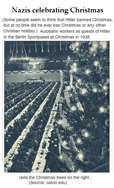Hitlerhosts huge Xmas Party